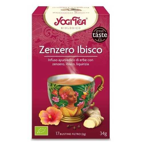 Zenzero Ibisco YOGI TEA